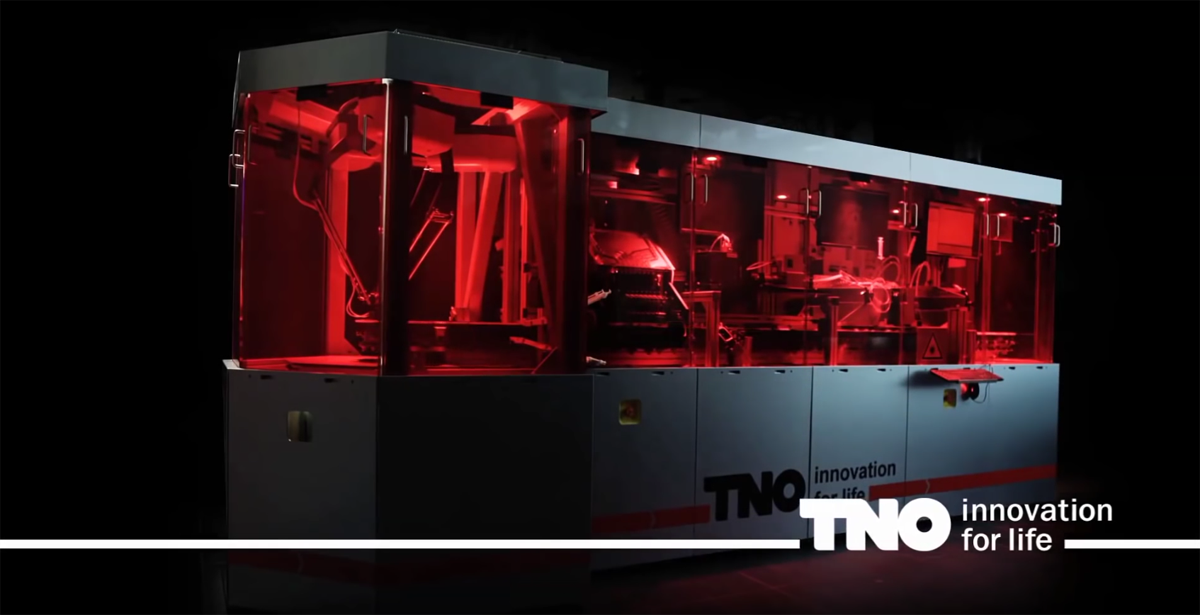 TNO Hyproline PrintValley metal 3D printer