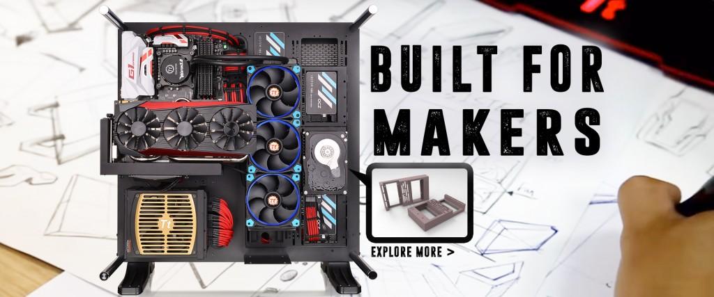 Thermaltake 3DMakers 3D printed PC mods