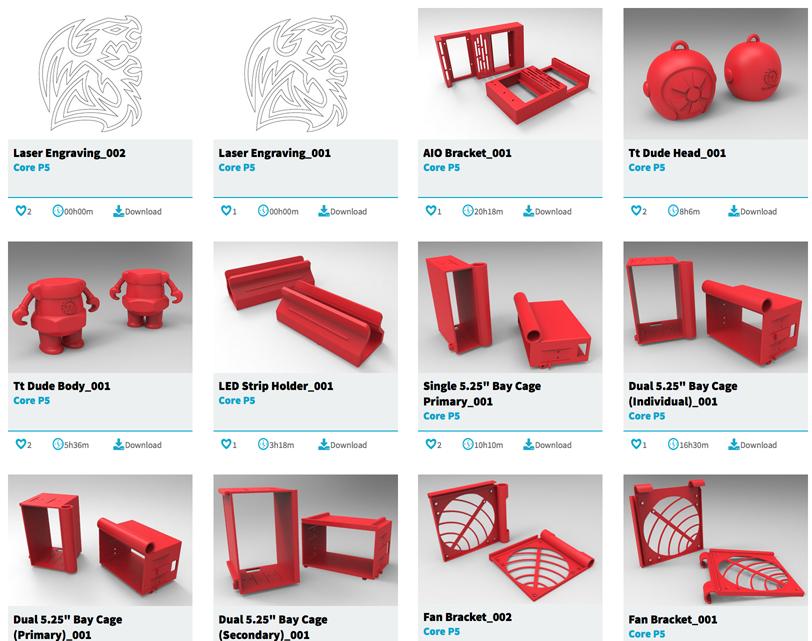 Thermaltake Adds 3D Printing to PC Modding Toolbox - 3D Printing
