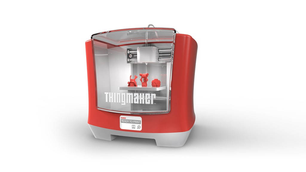 ThingMaker™-3D-Printer from Autodesk and Mattel