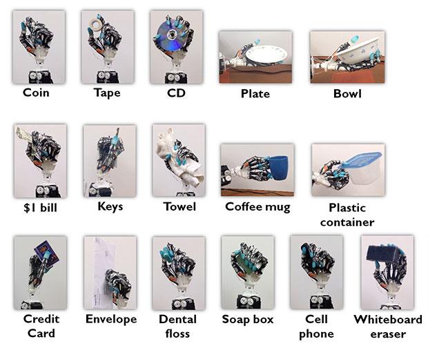 University of Washington 3D printed biomimetic prosthetic-hand parts