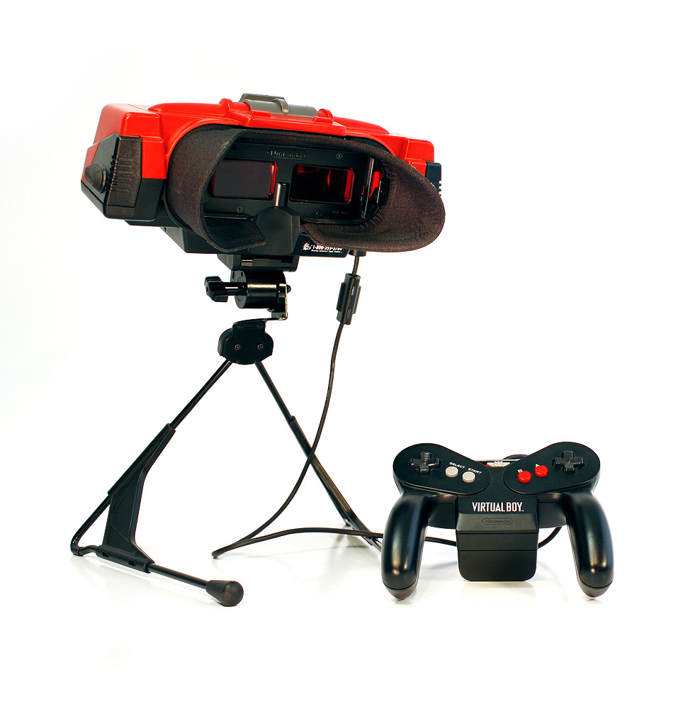 Virtual_Boy nintendo 3D printing