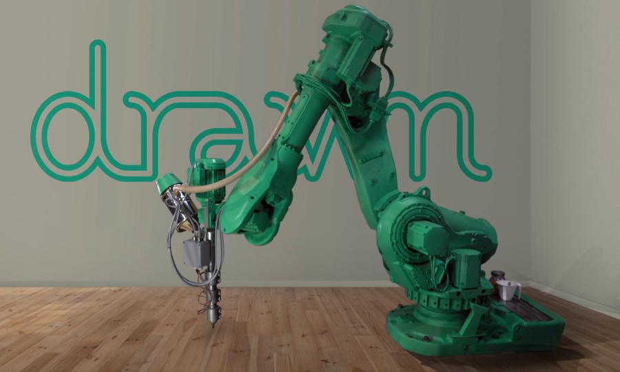 drawn 3D printing robotic arm