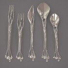 Eat Like Elven Royalty with Francis Bitonti's Metal 3D Printed Flatware
