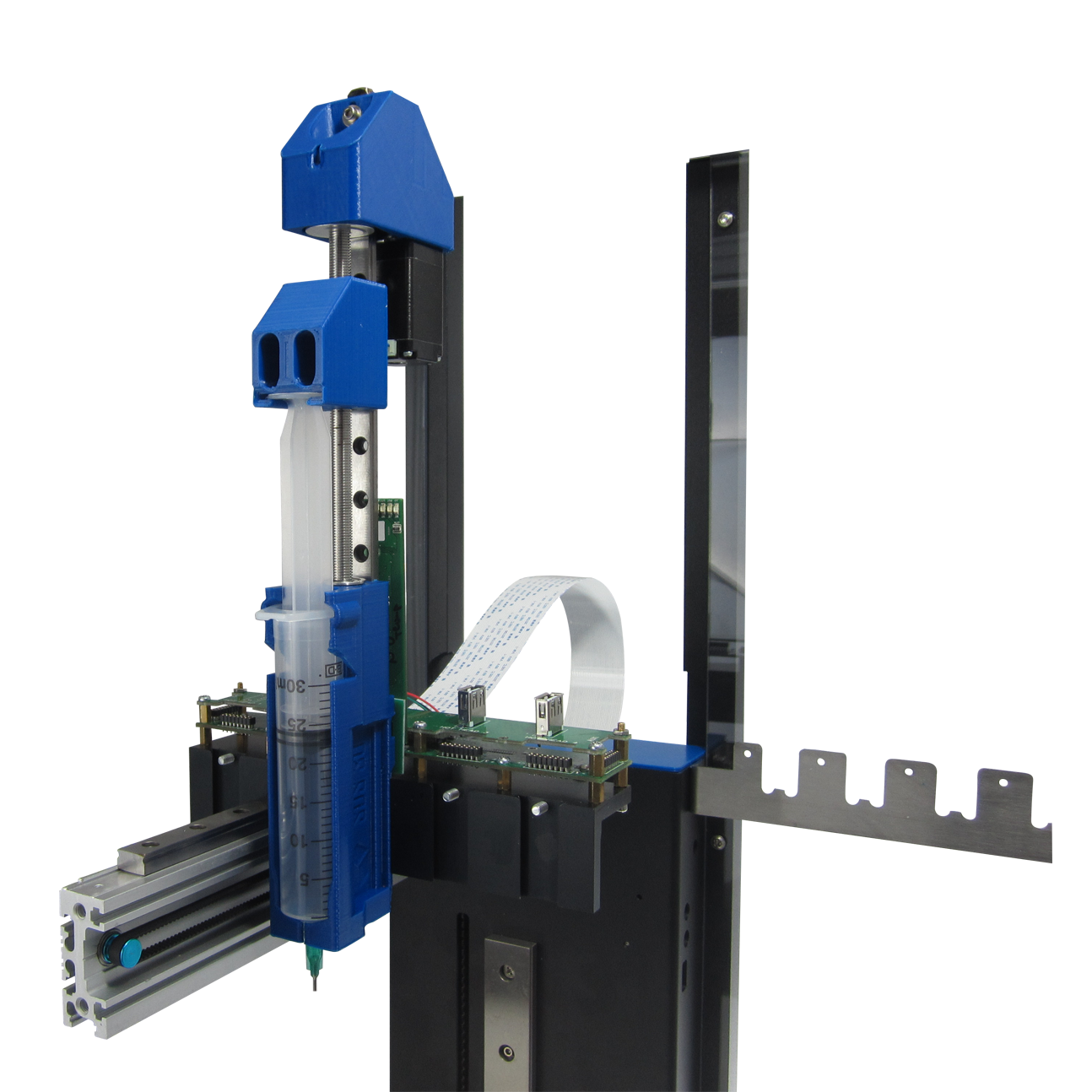 feature Hyrel Syringe Delivery System (SDS) bioprinting extruder for 3D printing copy