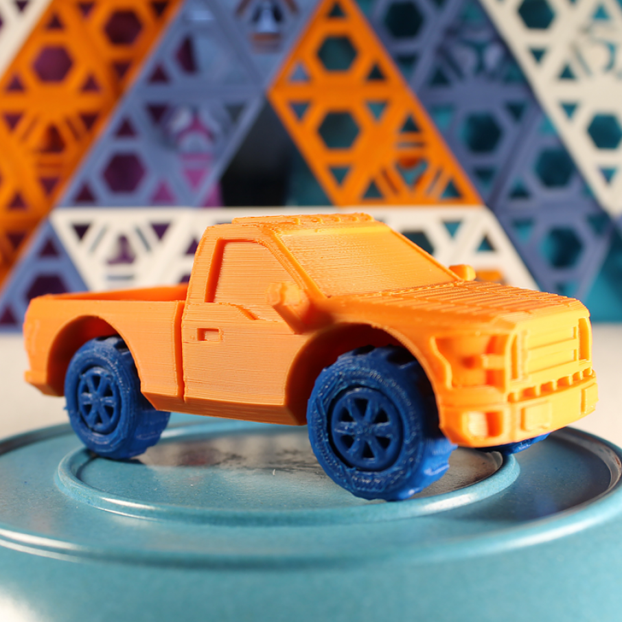 feature ford 3D printed truck from piecemaker