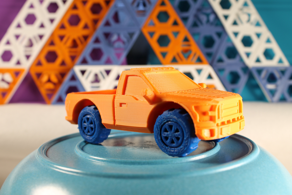 ford 3D printed truck from piecemaker
