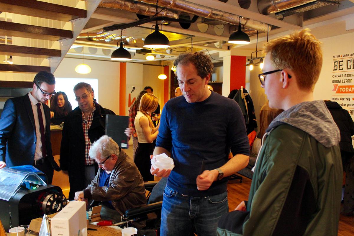 imakr store 3D printing event