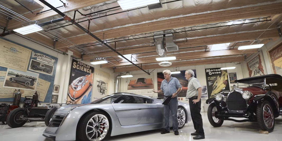 How 3d Printing Keeps Jay Leno S Massive Car Collection In
