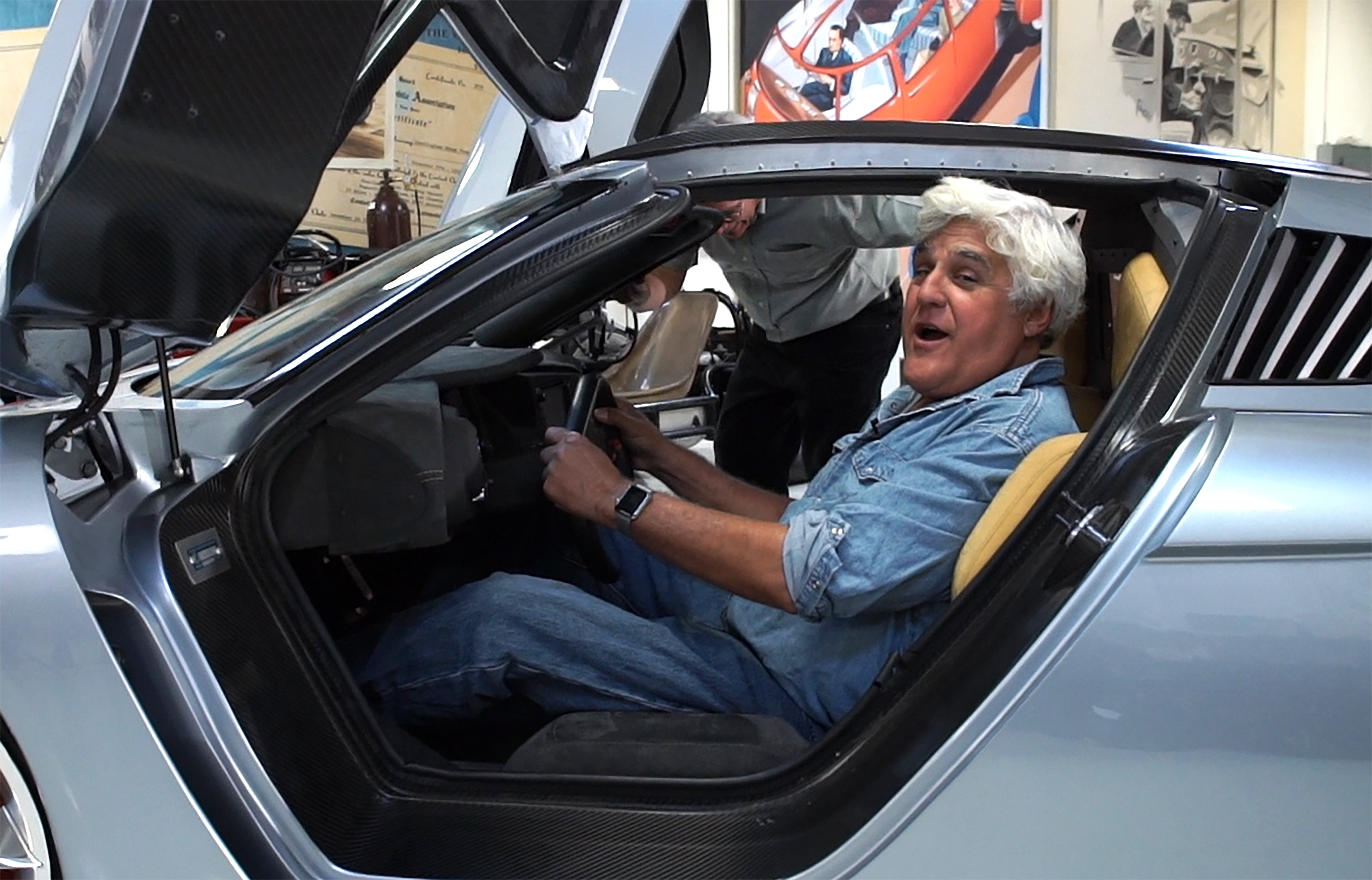 How 3D Printing Keeps Jay Leno's Massive Car Collection in
