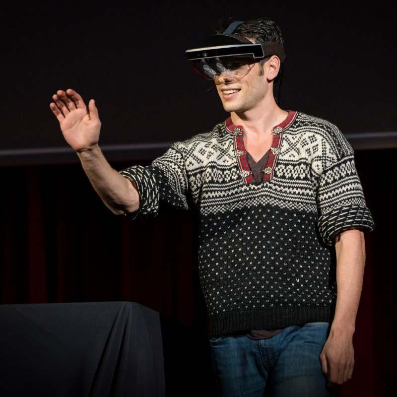 meta 2 TED talk augmented reality