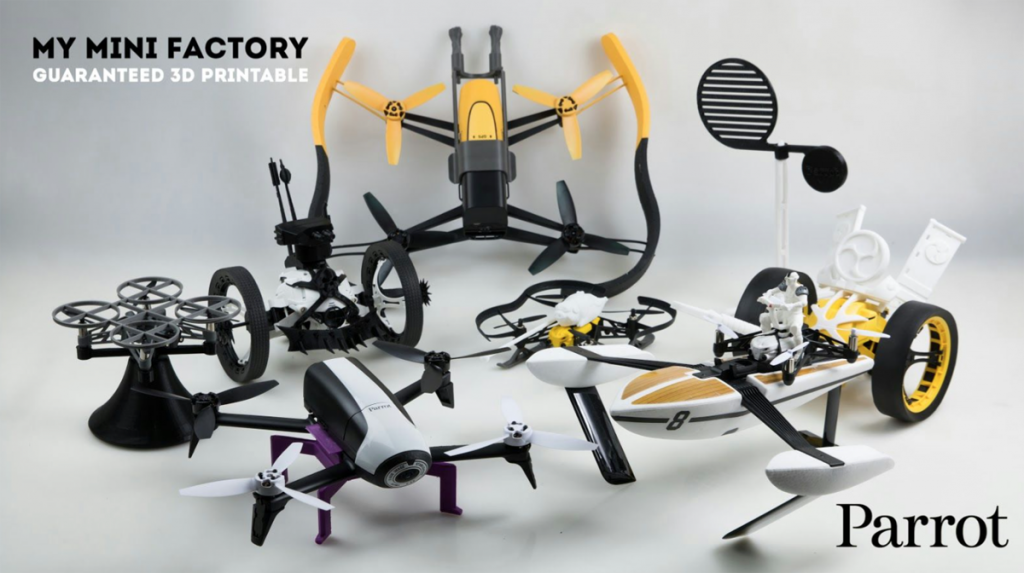 myminifactory 3D printed drone accessories