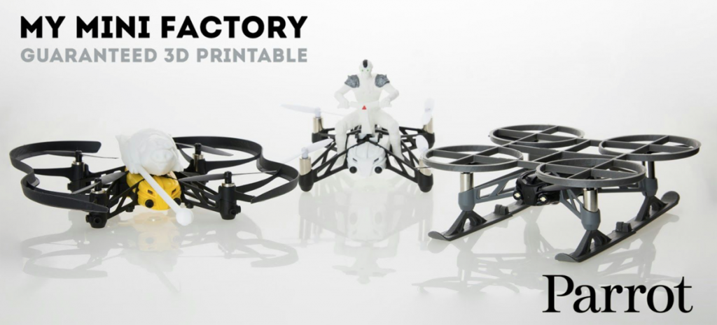 myminifactory 3D printed drone accessories contest