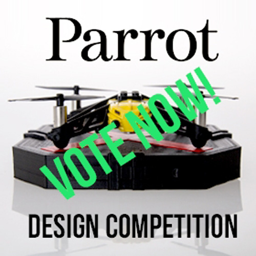 myminifactory 3D printed drone accessories vote now