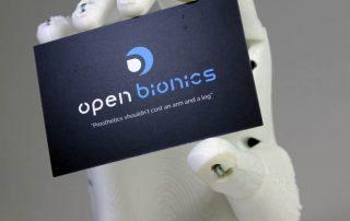 open bionic 3D printed hand ada