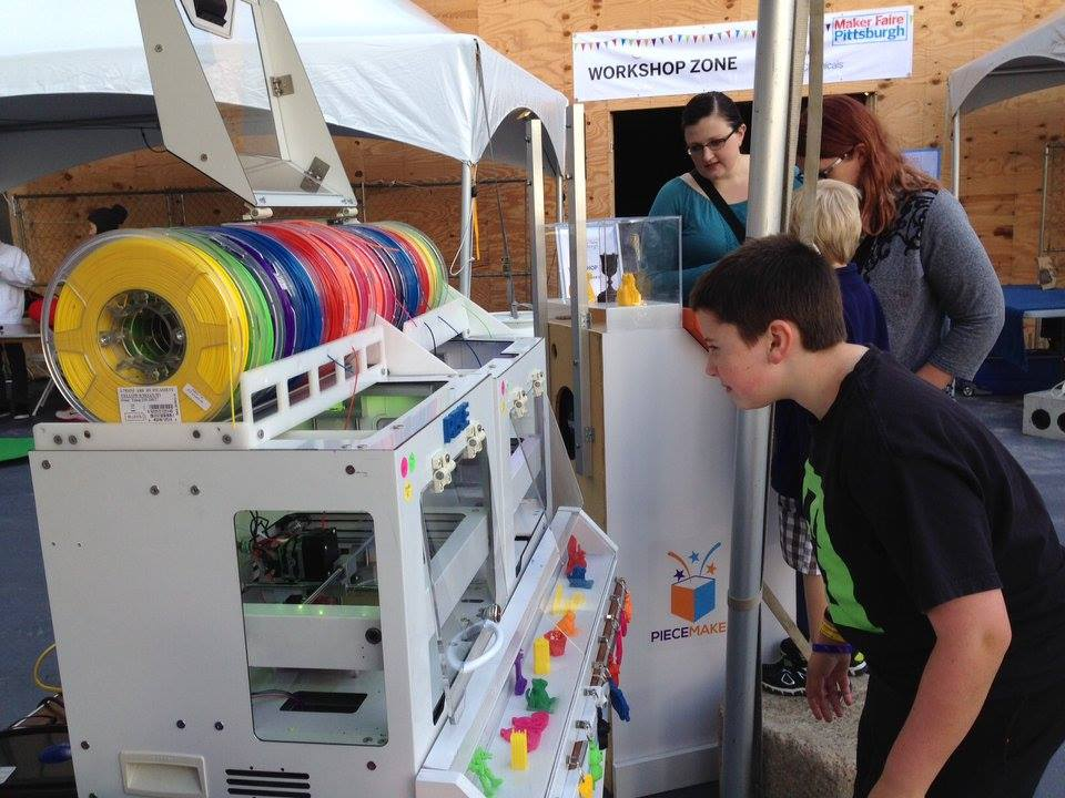 piecemaker 3D printer kiosk