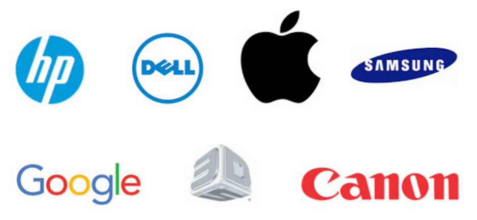 Potential predators: HP, Dell, Apple, Samsung, Google, 3DSystems, Canon