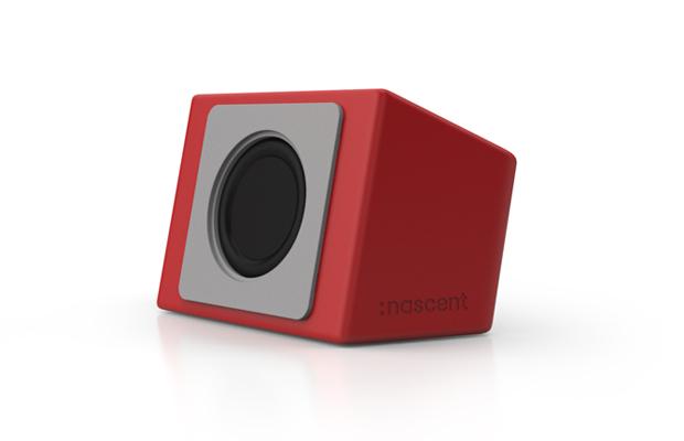 red - speaker
