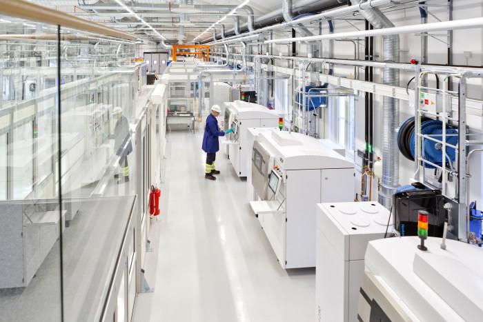 siemens metal 3D printing facility
