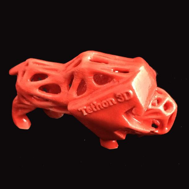 tethon 3D porcelite porcelain 3D printing material