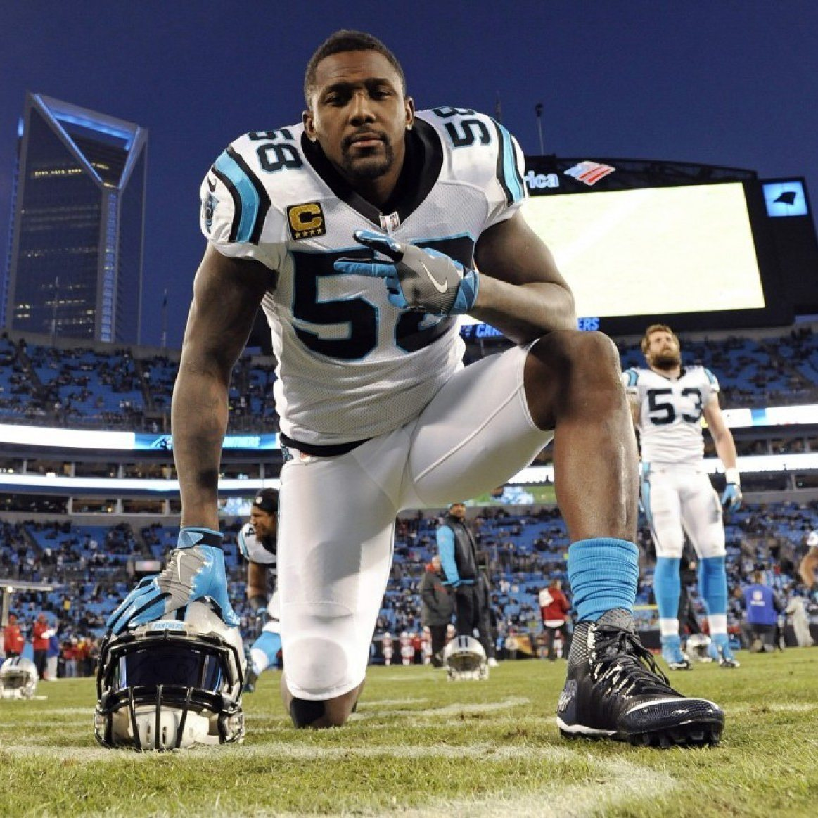 a6d8f6078a7 Panthers Linebacker May Play Super Bowl in 3D Printed Brace - 3D Printing  Industry