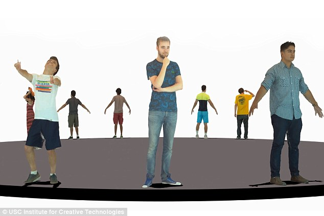 usc smartbody 3D scanning 3D animation