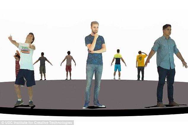 usc smartbody 3D scanning 3D animation