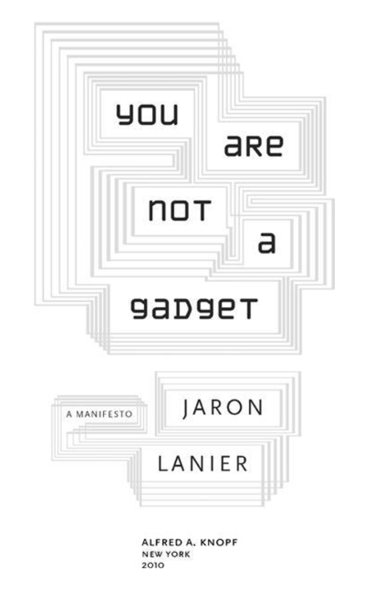 you are not a gadget cover 3D printing open