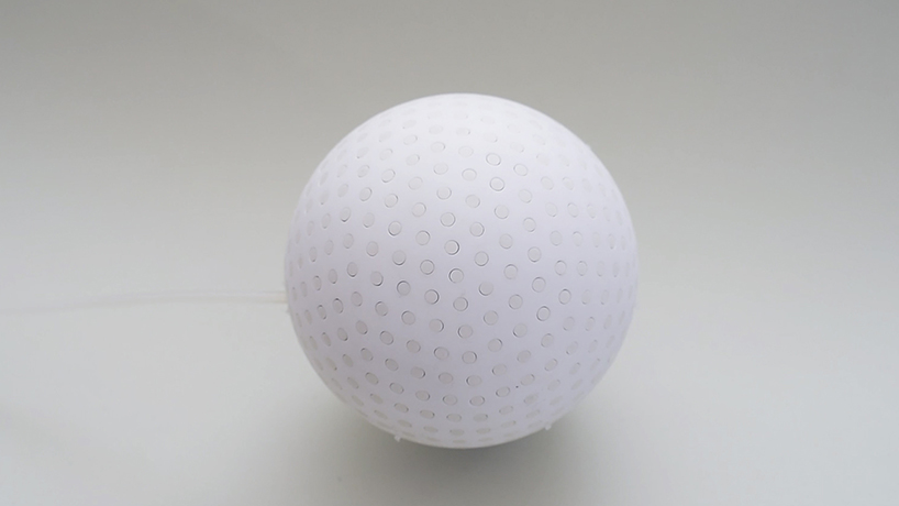 3D printed stress ball from simone schramm uninflated
