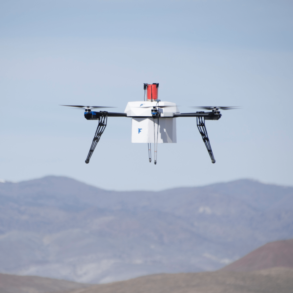 Flirtey's 3D Printed Drone Makes First-Ever FAA-Approved