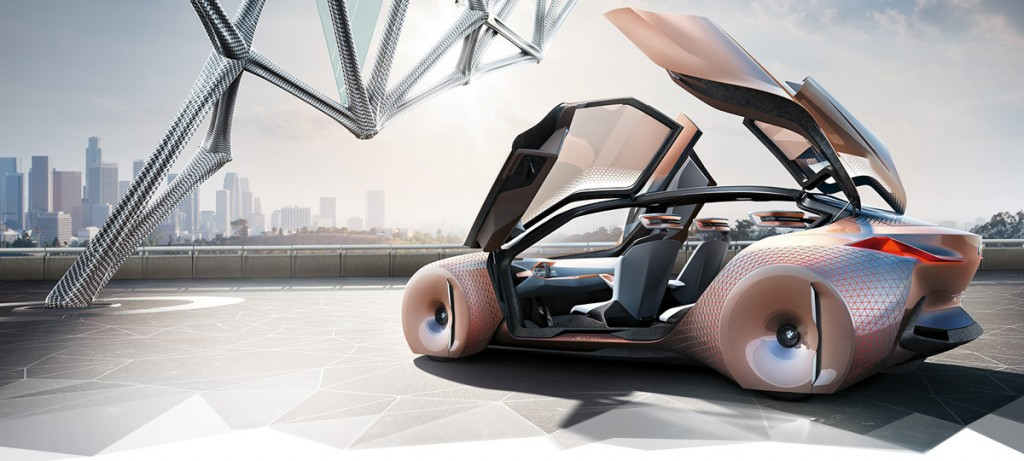4D printed BMW vision next 100