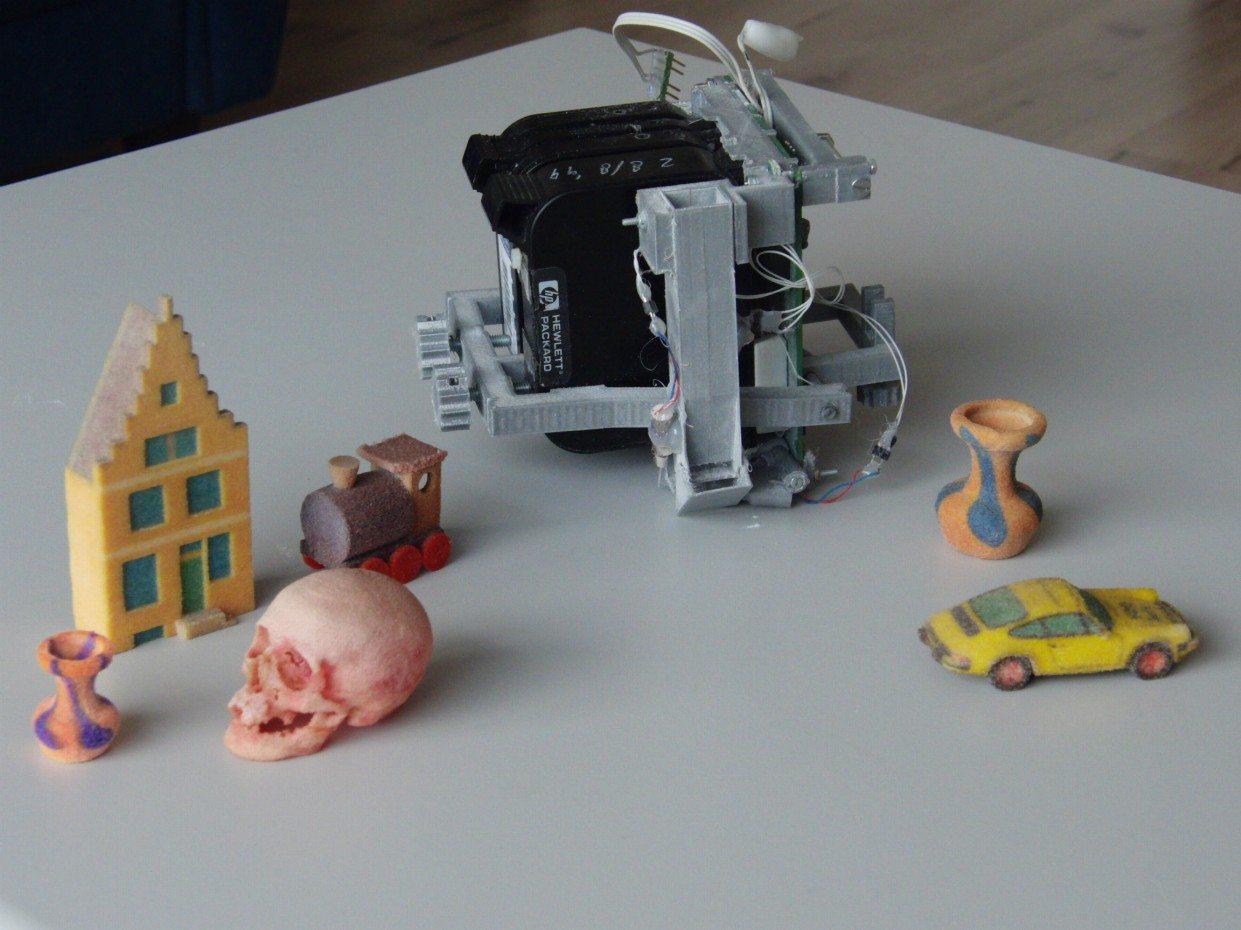 Как раскрасить модель изготовленную на 3d-принтере