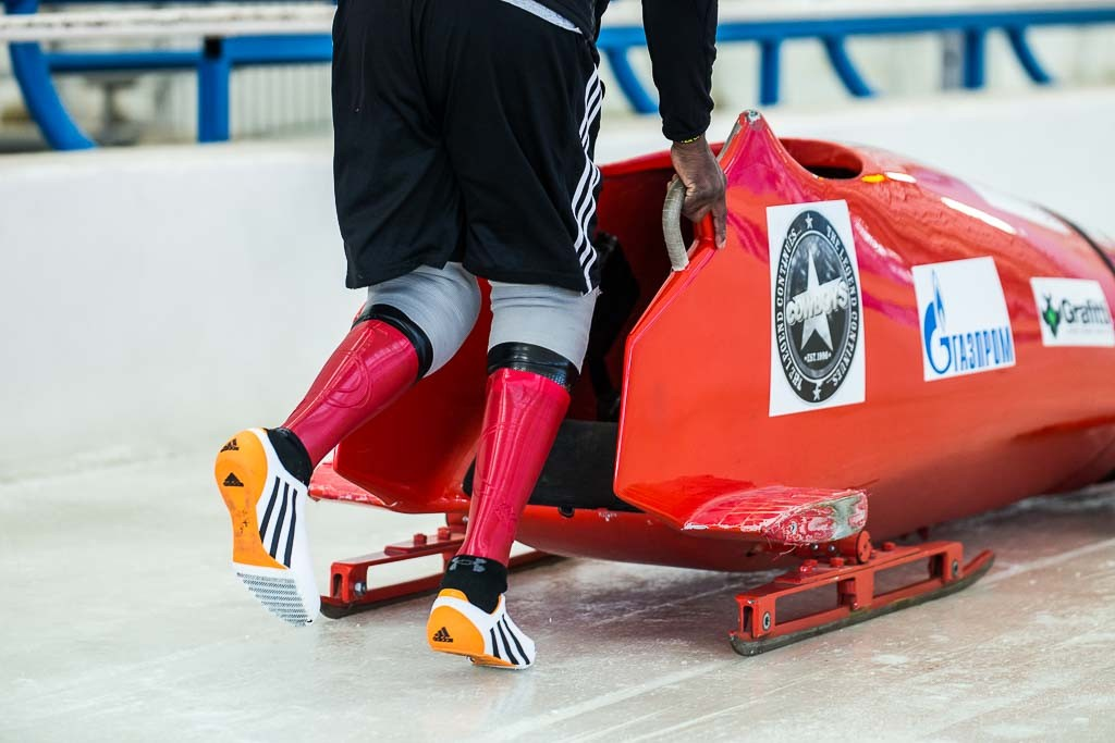 Create Prosthetics' 3D printed prosthetic covers for paralympic bobsledder Corie Mapp