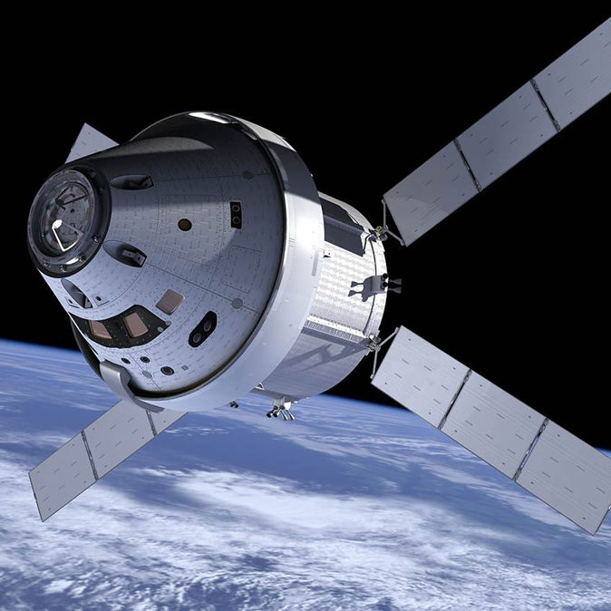 Orion spacecraft to be 3D scanned feature