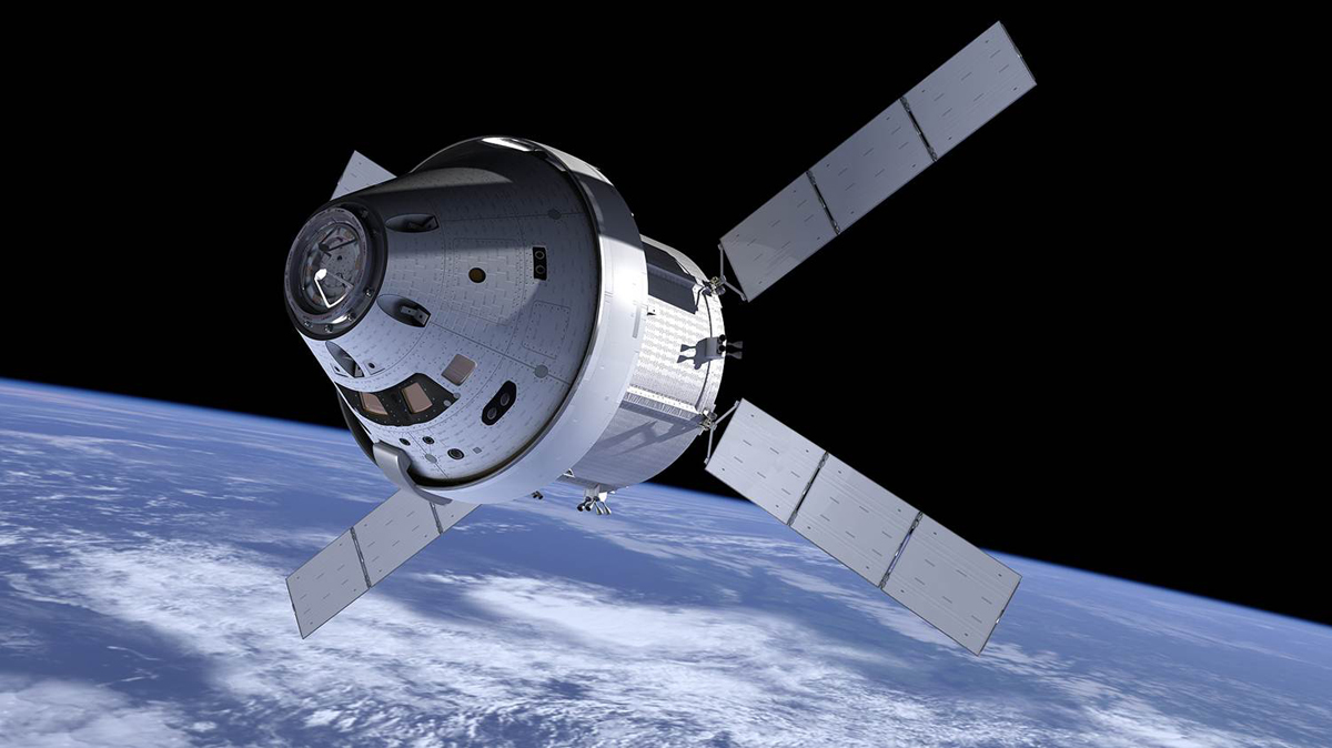 Orion spacecraft to be 3D scanned
