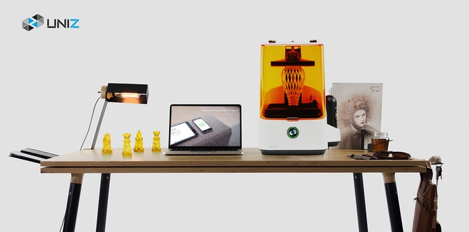 SLASH LCD SLA 3D Printer from UNIZ