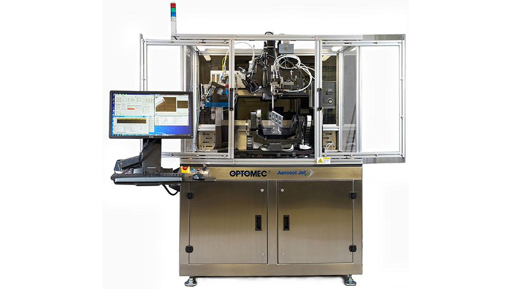 aerosol jet 5x 3D printer optomec