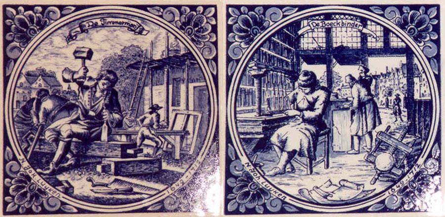Drawings from Bernardino Ramazzini, Father of Occupational Health. Image via The Ergonomenon.