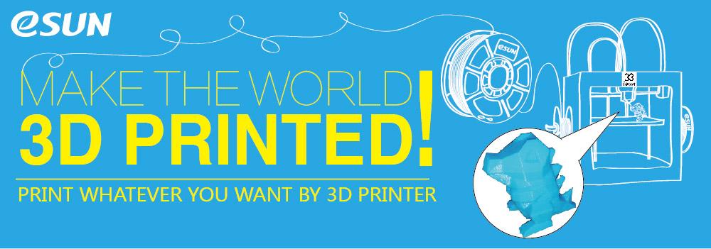 esun 3D printing banner