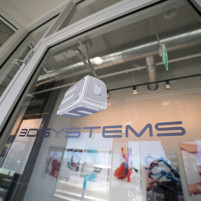 feature 3D systems health 3D printing center door
