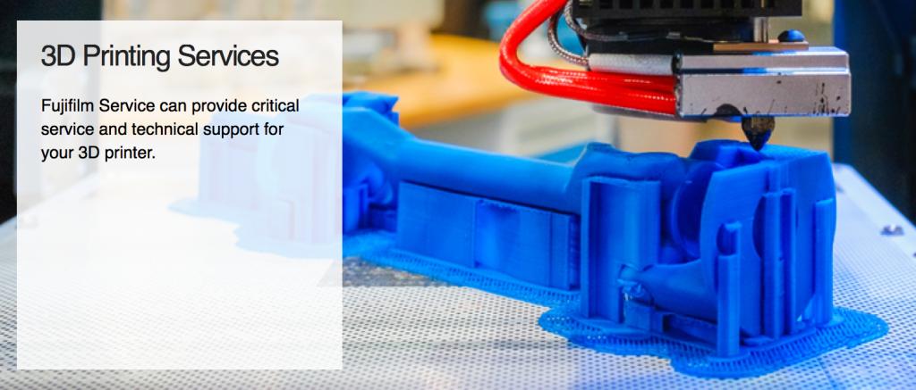 fujifilm services 3D printing repair