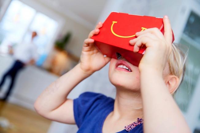 happy goggles VR mcdonalds