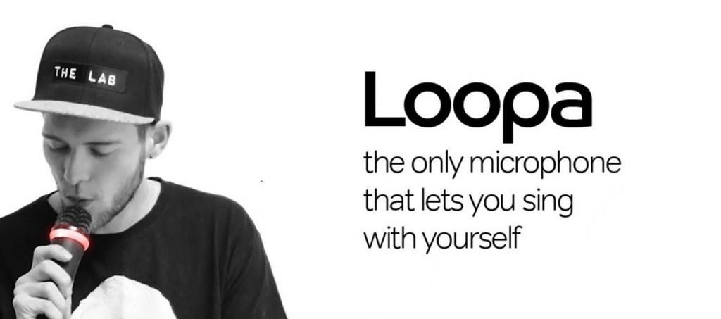 loopa 3D printed mic
