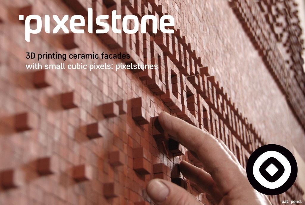 pixelstone brick 3D printer
