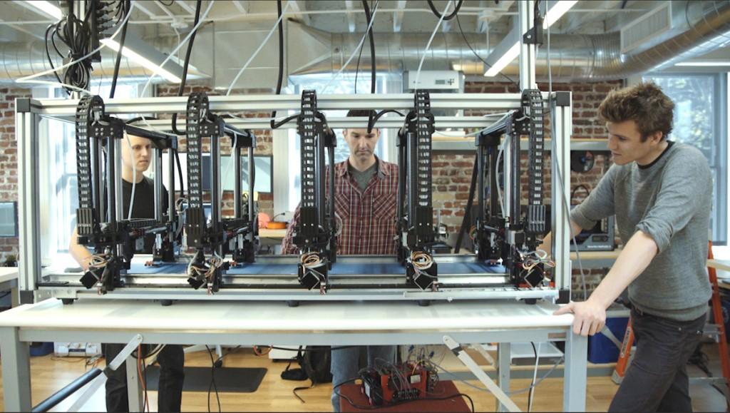 project escher 3D printer from autodesk