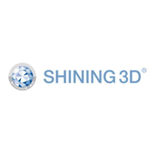 shining 3D 3D scanning 3D printing logo