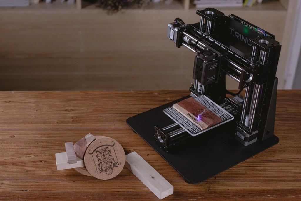 trinus laser engraver 3D printer