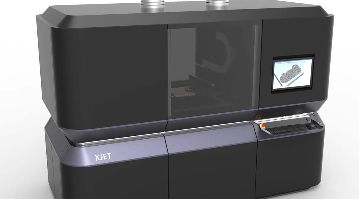 xjet nano metal 3D printer