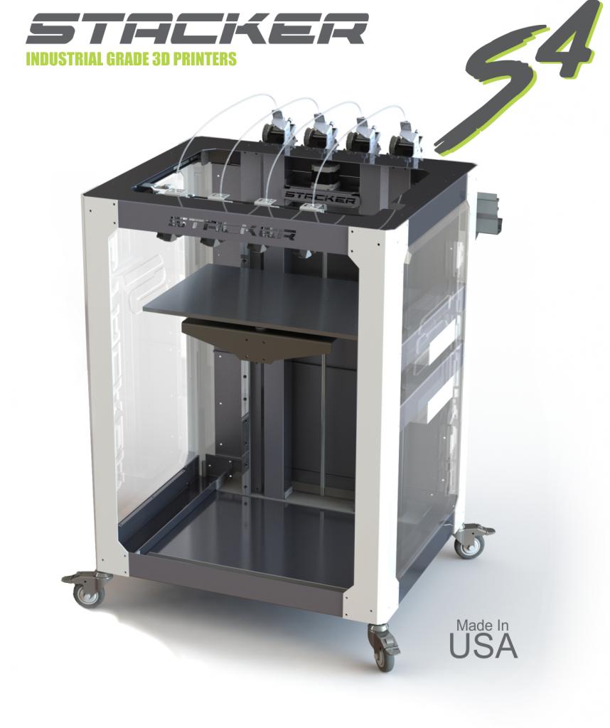 STACKER S4 3D printer