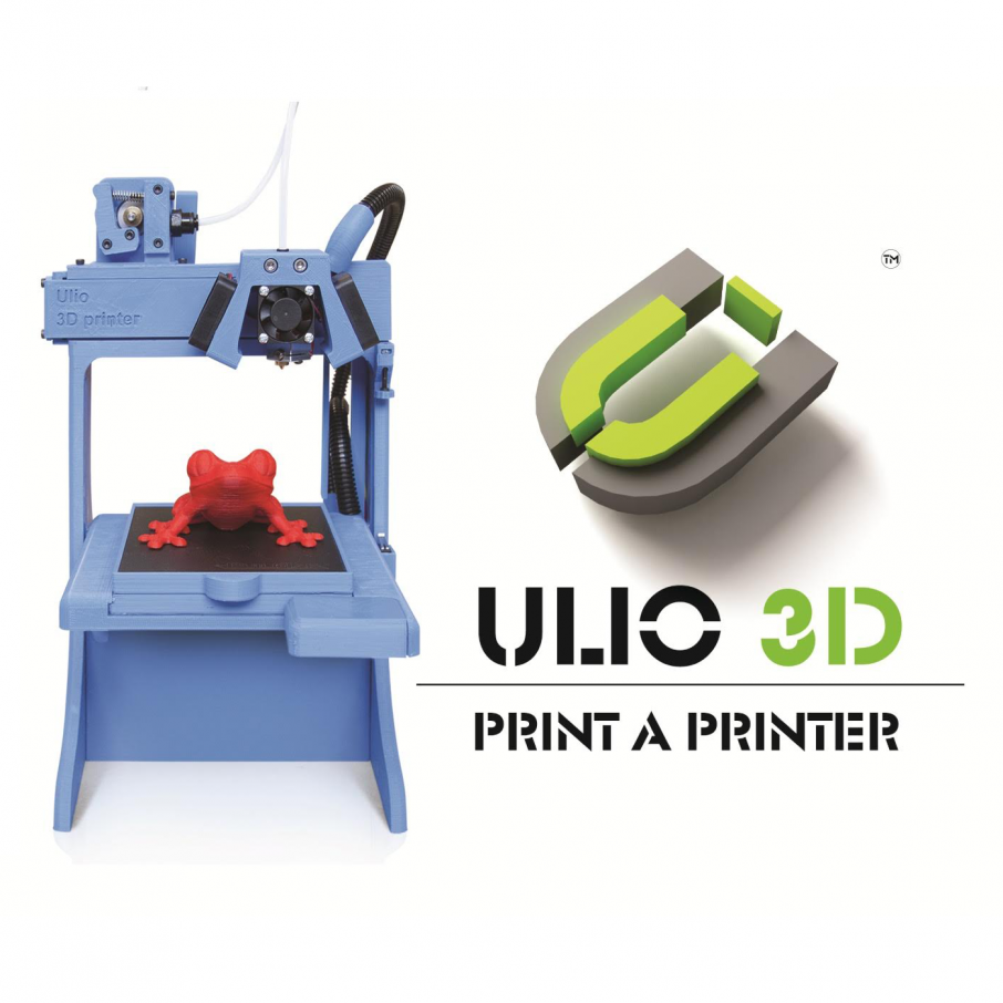 Ulio 3d the 3d printer almost completely made out of 3d for Made with 3d printer